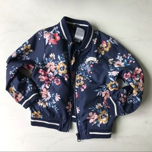 Carter's Jackets & Coats - 24 month floral bomber jacket